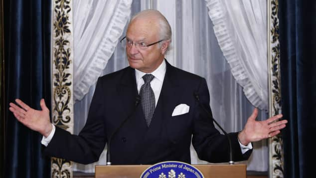 Schweden König, König Carl Gustaf von Schweden