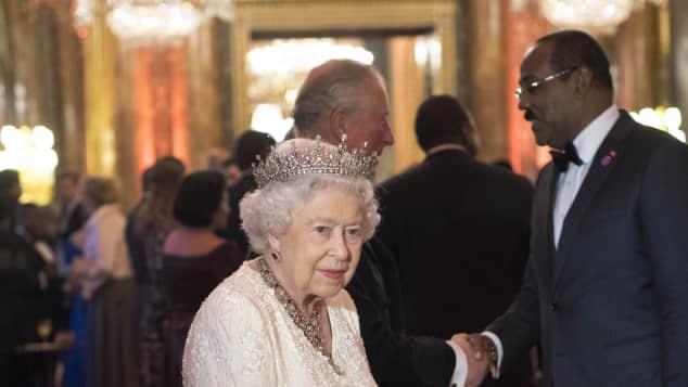 Königin Elisabeth II. Commonwealth