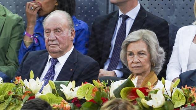 König Juan Carlos und Königin Sofia