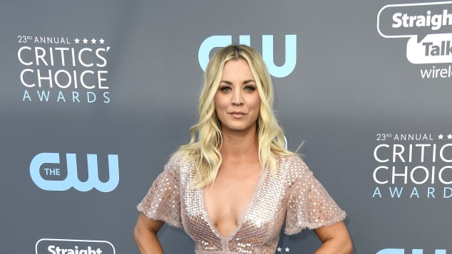 Kaley Cuoco Critics' Choice Awards 2018