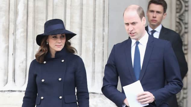 kate middleton prinz william trauerfeier london grenfell tower 2017 st. paul's cathedral