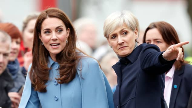 Herzogin Kate und Catherine Quinn