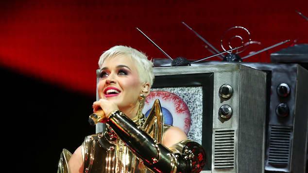 Katy Perry bei einem Auftritt in Australien