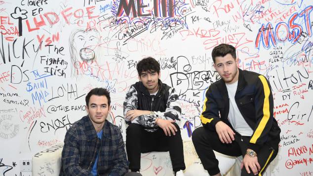 Jonas Brothers Joe Jonas Kevin Jonas Nick Jonas Comeback