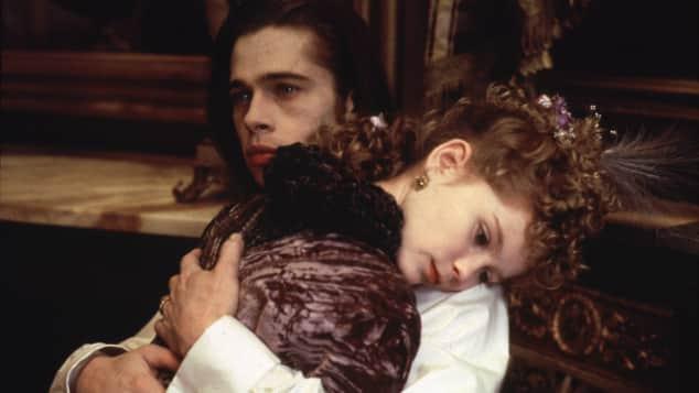Brad Pitt und Kirsten Dunst