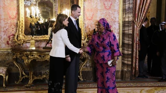 Königin Letizia König Felipe
