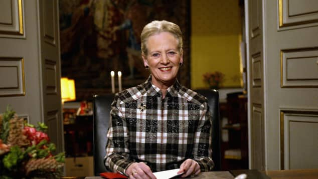 Königin Margrethe von Dänemark hält jedes Jahr eine Neujahrsansprache