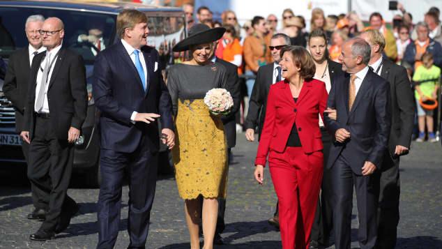König Willem-Alexander und Königin Máxima in Deutschland