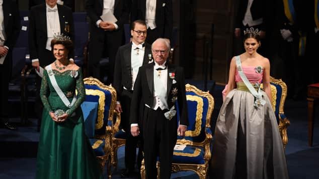 Königin Silvia, Prinz Daniel, König Carl Gustaf und Prinzessin Victoria
