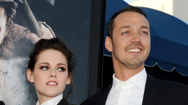 Kristen Stewart und Rupert Sanders bei der Premiere von 'Schneewittchen und der Jäger'