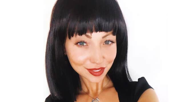 Kristina Yantsen neue Frisur schwarzer Bob