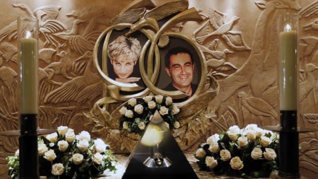 Lady Diana und Dodi Al-Fayed