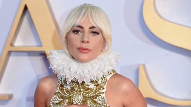 "Lady Gaga bei der UK-Premiere von ""A Star is Born"" 2018"