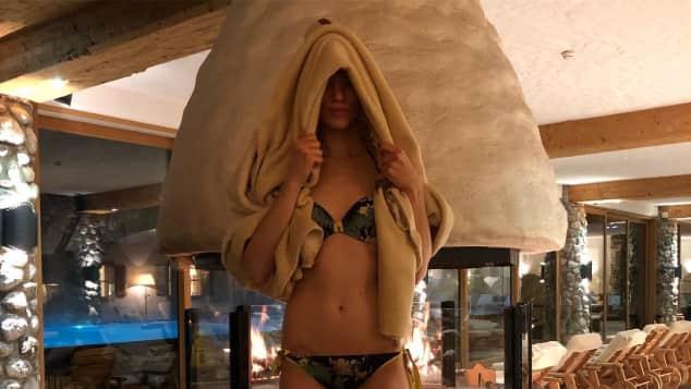 """Larrisa Marolt zeigt ihren tollen Bikini-Body, """"Sturm der Liebe"""""""