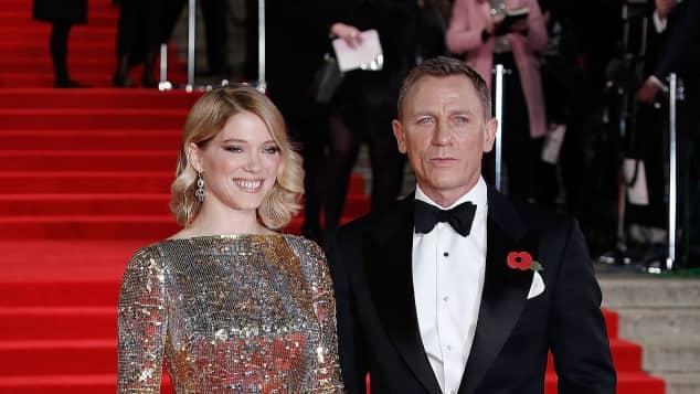 Lea Seydoux und Daniel Craig