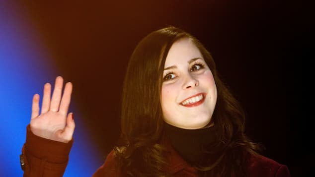 Lena Meyer-Landrut 2010 bei der TV Total WOK WM