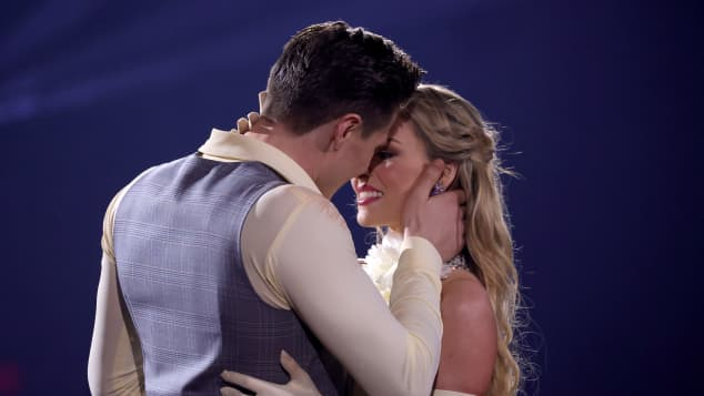 """Let's Dance"": Simon Zachenhuber and Patricija Belousova"