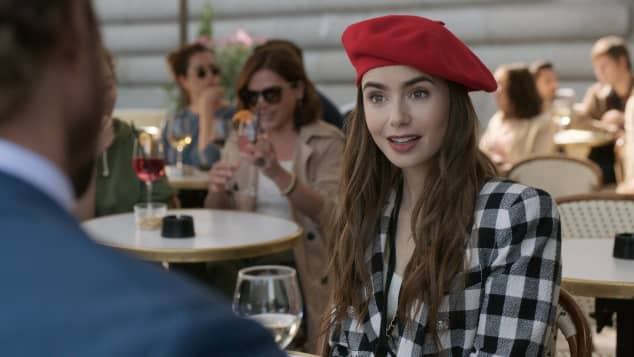 "Lily Collins in ""Emily in Paris"""