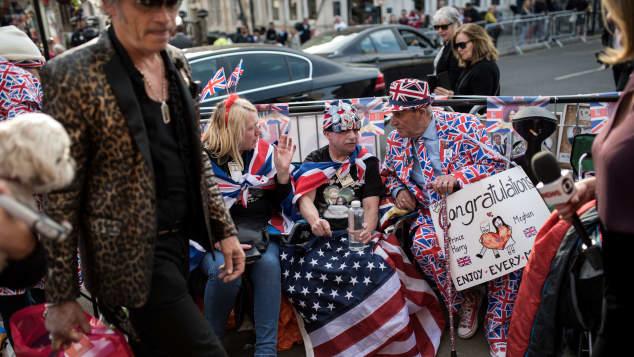 Vor der royalen Hochzeit herrscht in London bereits Partystimmung