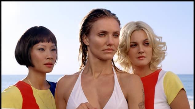 """Lucy Liu, Cameron Diaz und Drew Barrymore in """"Drei Engel für Charlie"""""""