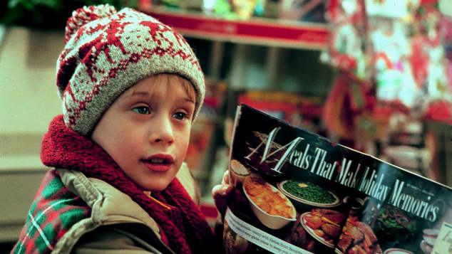 """Macaulay Culkin als """"Kevin McAllister"""" in """"Kevin - Allein zu Haus"""""""