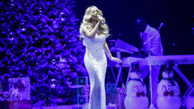 "Mariah Carey landete mit ""All I Want For Christmas Is You"" einen Hit"