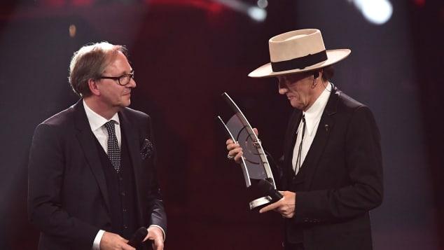 Marius Müller-Westernhagen wurde 2017 der ECHO fürs Lebenswerk verliehen
