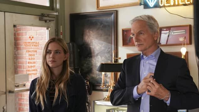 NCIS: Emily Wickersham und Mark Harmon