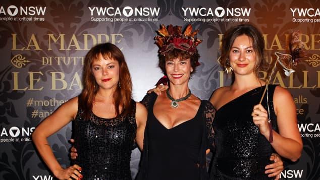 Matilda Brown, Rachel Ward und Rosie Brown