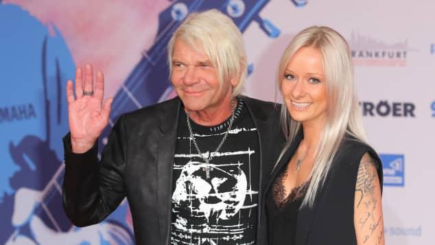 Matthias Reim und seine Freundin Christin Stark bei der Verleihung der Live Entertainment Awards