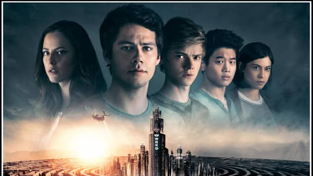 "Dylan O'Brien im Film ""Maze Runner"""