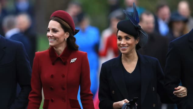 Duchess Catherine and Duchess Meghan