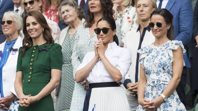 Herzogin Kate, Herzogin Meghan und Pippa Middleton