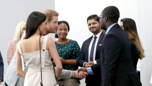 "Meghan Markle und Prinz Harry beim ""Commonwealth Youth Forum"" in London"