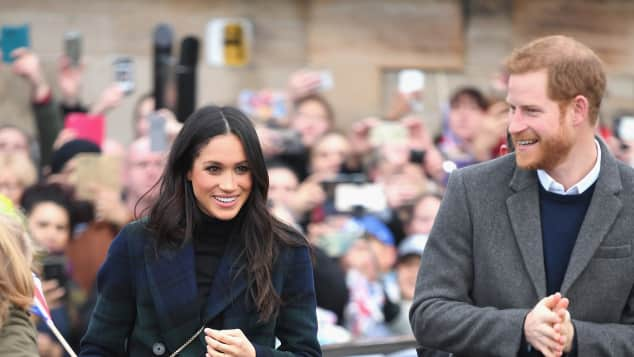 Meghan Markle, Prinz Harry, Edinburgh