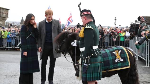Meghan Markle, Prinz Harry, Schottland