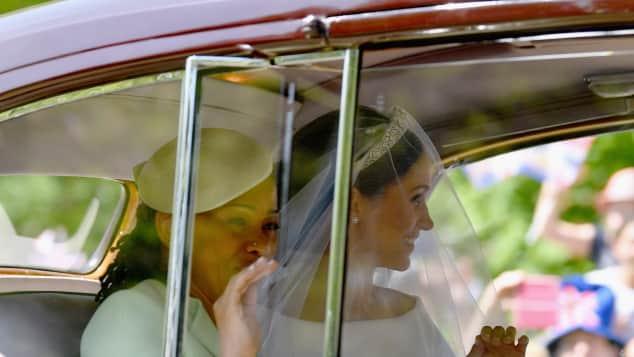 Meghan Markle und ihre Mama bei Prinz Harrys und Meghans Hochzeit