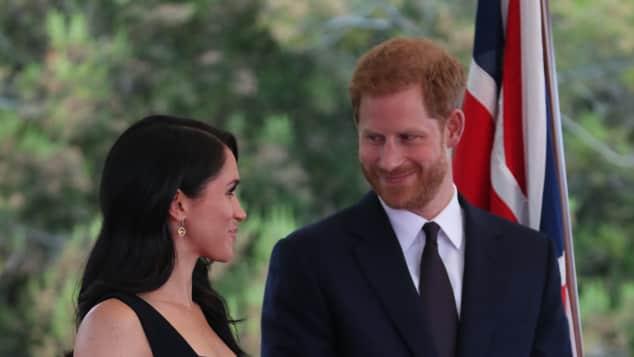 Prinz Harry und Herzogin Meghan warfen sich bei ihrer Irland-Reise immer wieder verliebte Blicke zu