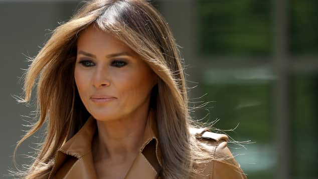 First Lady der USA Melania Trump