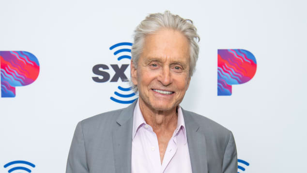 Michael Douglas in Hollywood 2019