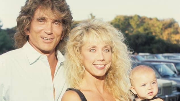 Michael Landon und seine dritte Frau Cindy
