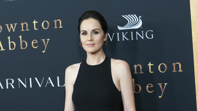 "Michelle Dockery, bekannt aus ""Downton Abbey"""