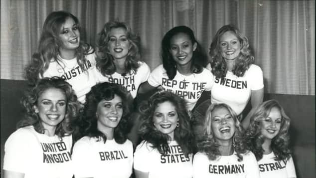 """Die """"Miss World""""-Teilnehmerinnen 1977"""