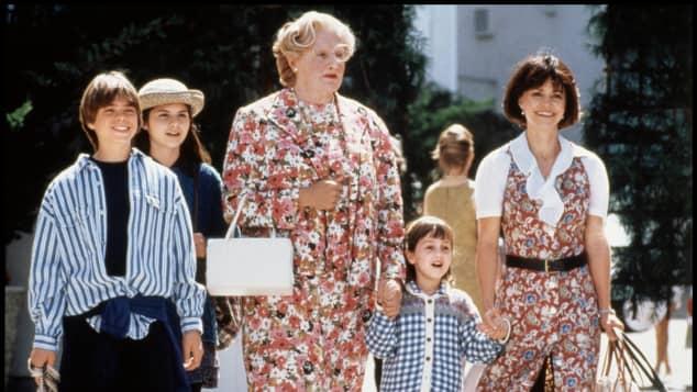 """Die Stars aus """"Mrs. Doubtfire"""""""
