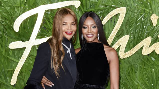 Naomi Campbell Mutter Valerie