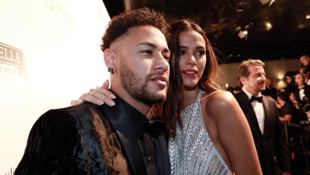 Neymar und seine Freundin Bruna Marquezine