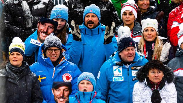 Schwedische und norwegische Royals