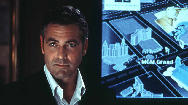 """""""Ocean's Eleven"""": George Clooney"""