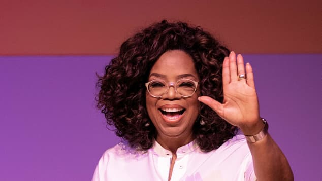 Oprah Winfrey at an Event honoring the late Nelson Mandela at the Soweto Campus in Johannesburg, South Africa.