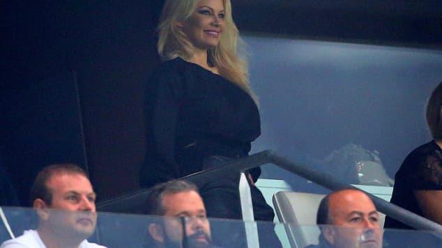 Pamela Anderson Spielerfrau